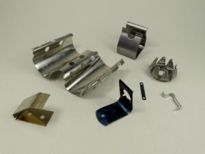Custom metal stamping services provided by Mid-West