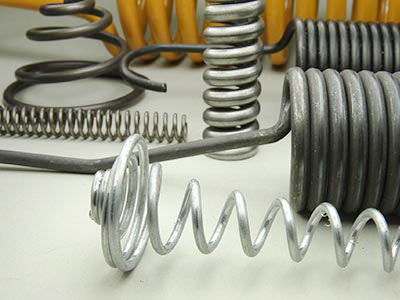 Low-to-medium volume industrial springs produced by Mid-West Spring and Stampin