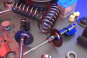 Mid-West Spring and Stamping's tool design services allow businesses to grow. A collection of various springs and tools.